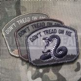 Mil-Spec Monkey Velcro Morale Patch Don't Tread On Me